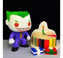 Joker Birthday Photographic Print