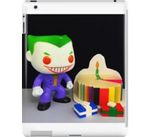 Joker Birthday iPad Case/Skin