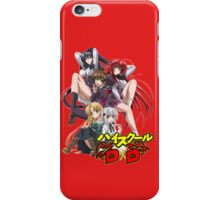 Highschool DxD  iPhone Case/Skin