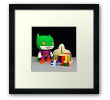 Joker/Batman Birthday Framed Print