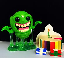 Slimer Birthday by FendekNaughton