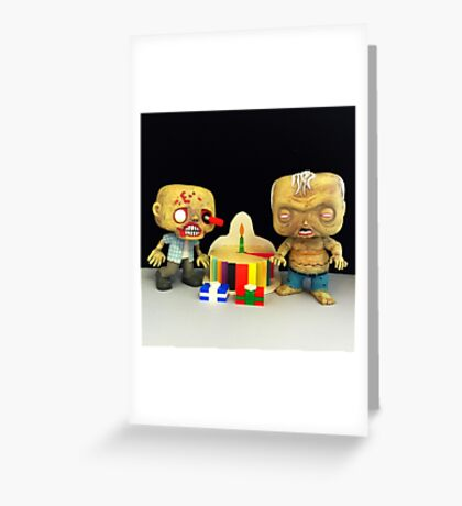 Zombie Birthday Greeting Card