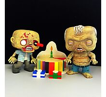 Zombie Birthday Photographic Print