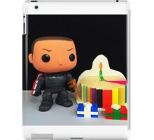 Commander Shepard Birthday iPad Case/Skin