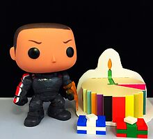 Commander Shepard Birthday by FendekNaughton