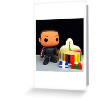 Commander Shepard Birthday Greeting Card