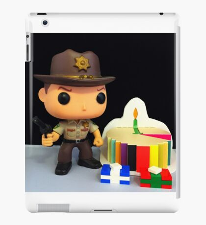 Rick Grimes Birthday iPad Case/Skin