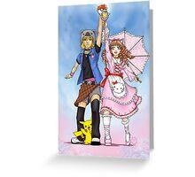 .:Animemania:. Greeting Card