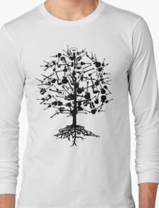 Guitars Tree Roots Long Sleeve T-Shirt
