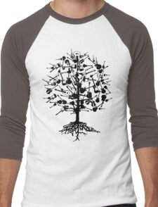 Guitars Tree Roots Men's Baseball ¾ T-Shirt