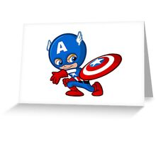 Funny Captain A. 2 Greeting Card