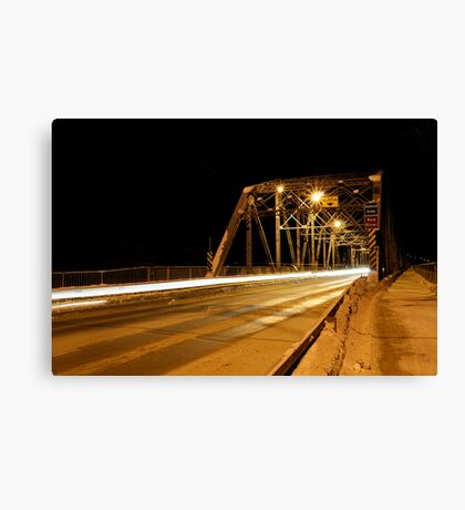Redwood Bridge Looking East Canvas Print