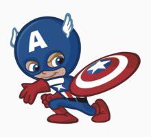 Funny Captain A. 2 Kids Clothes