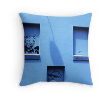 'Art is not a crime' Throw Pillow