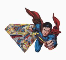 Superman Comic Logo by Cuddlechimp