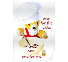One for the cake Poster