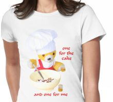 One for the cake Womens Fitted T-Shirt