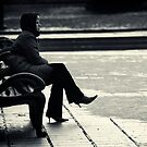 Waiting by John Roshka
