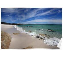 Bay Of Fires,Swimcart Beach, Tasmania Poster