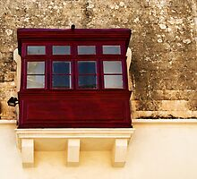 Mdina, Malta Window 1 by Alison Cornford-Matheson