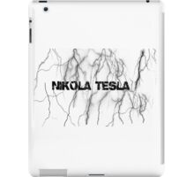 Tesla lightning iPad Case/Skin
