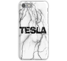 Tesla lightning iPhone Case/Skin