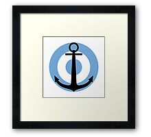 Argentine Naval Aviation - Unofficial Roundel Framed Print