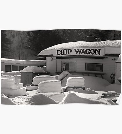 Chip Wagon Poster