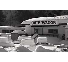 Chip Wagon Photographic Print