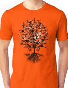 Musical Instruments Tree Unisex T-Shirt
