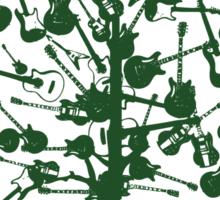 Guitars Tree Roots ~ Green Sticker