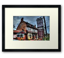 Monkseaton Arms Framed Print