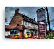 Monkseaton Arms Canvas Print