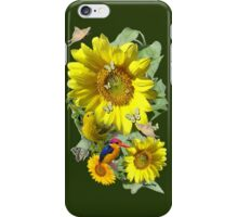 Sunflower party iPhone Case/Skin