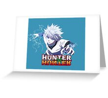 Kirua - Hunter x Hunter Greeting Card