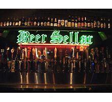 Beer Sellar  Photographic Print