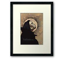 The Gentleman Cannibal: Profile Framed Print