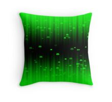 Space Invaders Matrix Throw Pillow
