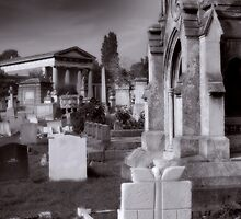 Kensal Green cemetery. by Dave Hare