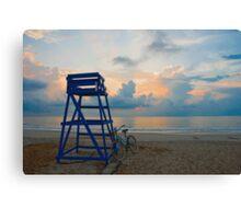 Blues On North Beach Canvas Print