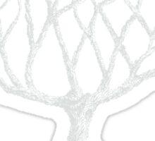 Tree White Sticker