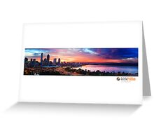 Sunrise Perth III  Greeting Card
