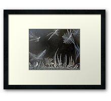 ICE CRYSTAL FANTASY Framed Print