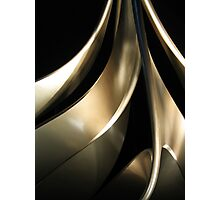 Sculptural curves two Photographic Print