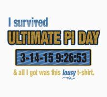 Pi Day Survivor Kids Tee
