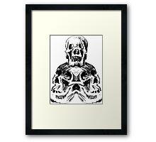 A Pile of Death Framed Print