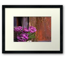 Details in the Hutong Framed Print
