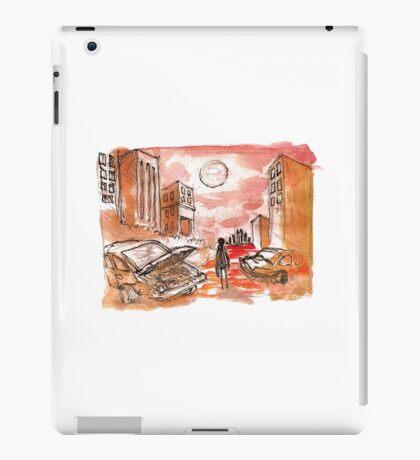 apocalypse red iPad Case/Skin