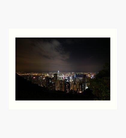 Victoria's Peak - Hongkong Art Print
