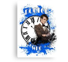 11th Doctor Canvas Print